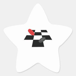 Inspectores Pegatina En Forma De Estrella