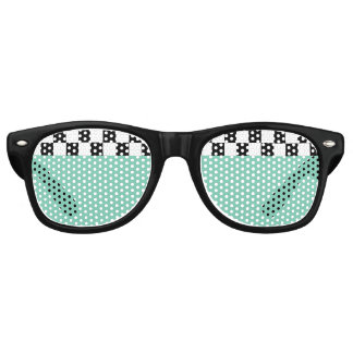 inspectores retros lentes de fiesta