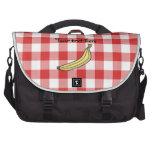 Inspectores rojos de la comida campestre del pláta bolsas para portatil