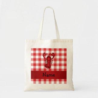 Inspectores rojos personalizados de la comida camp bolsa