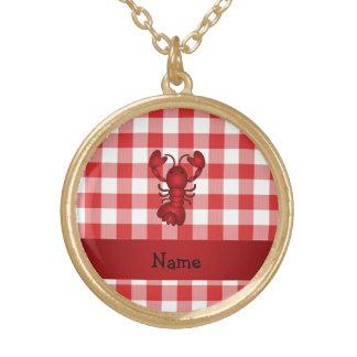 Inspectores rojos personalizados de la comida joyerías