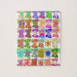 Inspiración a partir de vidas coloridas de maripos puzzle con fotos