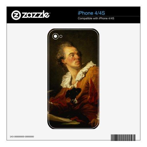 Inspiración (aceite en lona) iPhone 4 skins