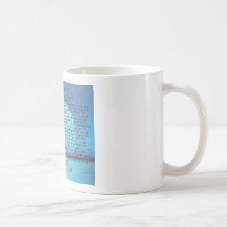 Inspiración azul de Mug=Daily del café de Taza Clásica