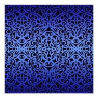 Inspiración barroca del estilo de la impresión de cojinete
