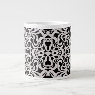 Inspiración barroca del estilo de la taza