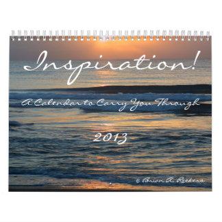 ¡Inspiración! Calendario