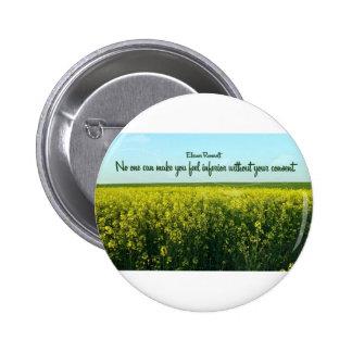 Inspiración de Eleanor Roosevelt Pins