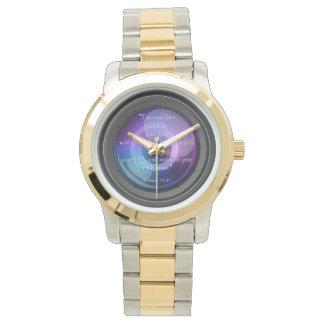 Inspiración de la lente relojes de pulsera