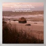 Inspiración de la playa impresiones