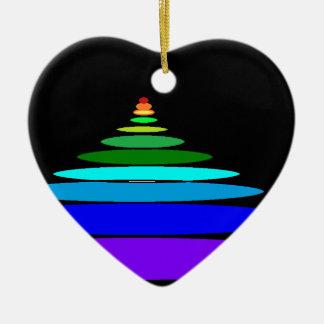 inspiración adorno de cerámica en forma de corazón
