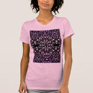 Inspiración del estilo del damasco de la camiseta