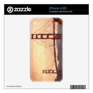 Inspiración del Golden Gate Calcomanías Para iPhone 4S
