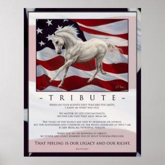 Inspiración del tributo póster