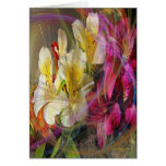 Inspiración floral tarjeta de felicitación