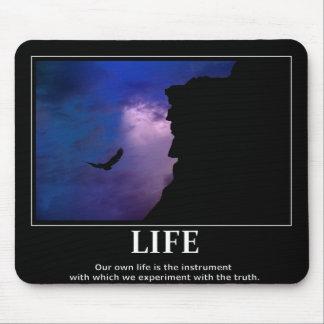 Inspiración/motivación del mousepad de la vida alfombrillas de ratones