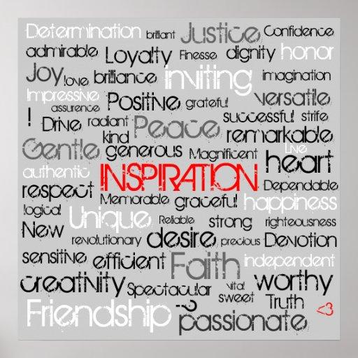 Inspiración Posters