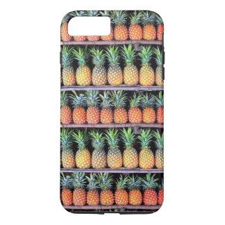Inspiración tropical - piña 6 funda iPhone 7 plus