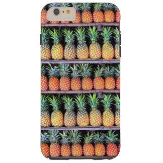 Inspiración tropical - piña 6 funda resistente iPhone 6 plus