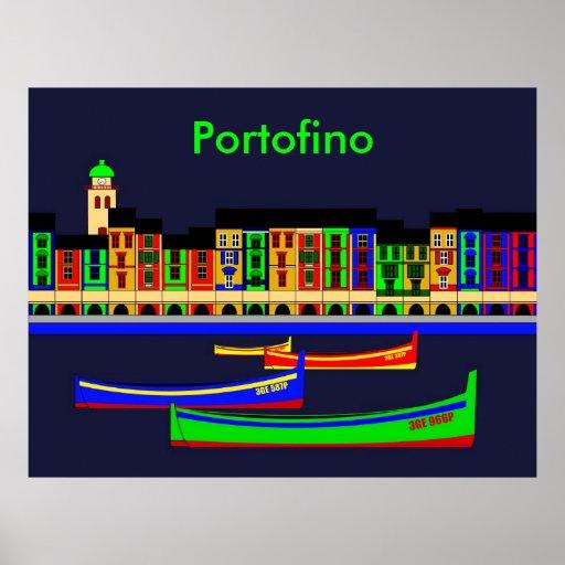 Inspiraciones de Portofino Poster