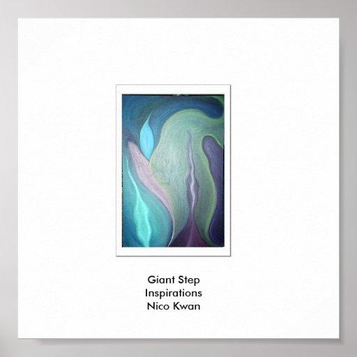 Inspiraciones del paso gigante, inspiración del pa impresiones
