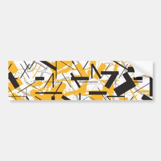 Inspiraciones líricas etiqueta de parachoque