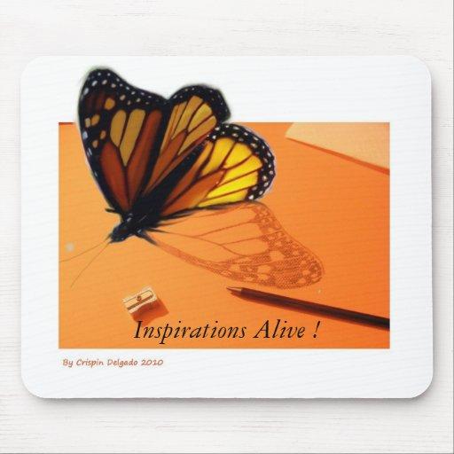 ¡Inspiraciones vivas! Mousepad Tapete De Raton