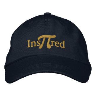 Inspirado con el pi gorra de béisbol bordada
