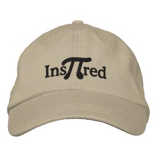 Inspirado con humor del pi gorra de beisbol bordada