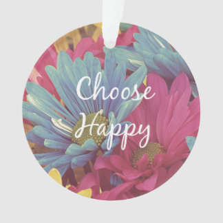 Inspirado elija la afirmación feliz de la cita