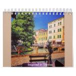 Inspirado en Treviso Calendarios De Pared