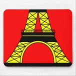Inspirado por la torre Eiffel Tapete De Ratones