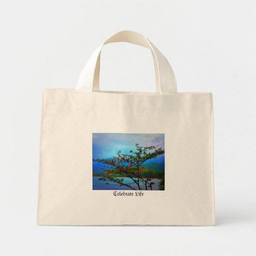 Inspirar-Arbusto de la naturaleza/océano/Mountain  Bolsa