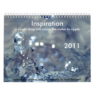 Inspiration 2011 Calendar