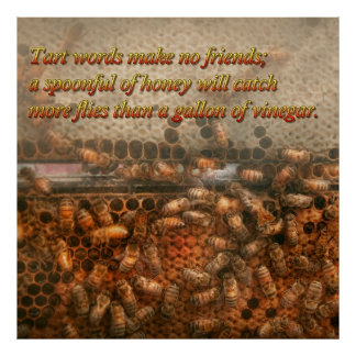 Inspiration - Apiary - Bee's - Sweet success - Ben Print