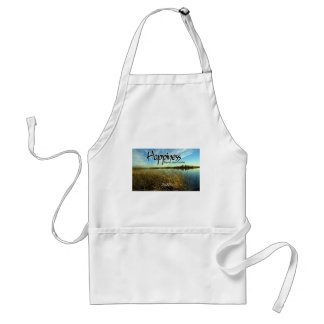 Inspiration -- Aristotle and Happiness Adult Apron
