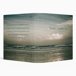 Inspiration at the Shore Vinyl Binders