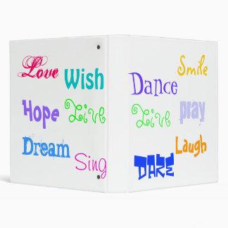 Inspiration Avery Binder Color