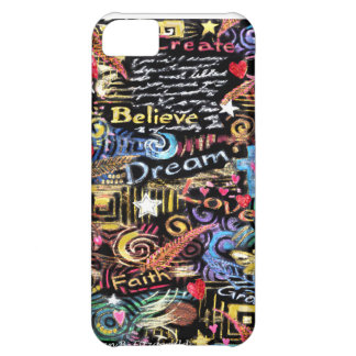 INSPIRATION - Believe, Dream, Love iPhone 5C Cases