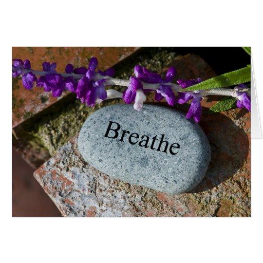 Inspiration: Breathe 3 Card