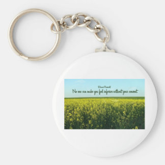 Inspiration by Eleanor Roosevelt Keychain