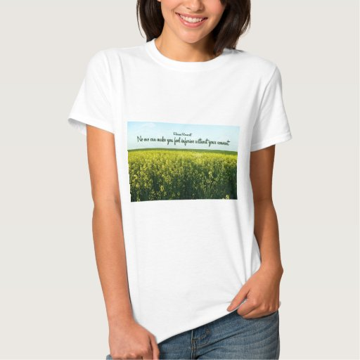 Inspiration by Eleanor Roosevelt T-shirts