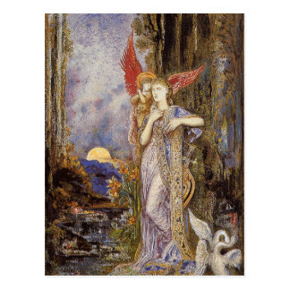 Inspiration by Gustave Moreau Postcard