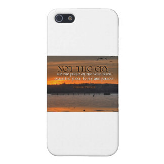 Inspiration -- Chinese Proverb iPhone SE/5/5s Cover