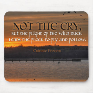 Inspiration -- Chinese Proverb Mouse Pads