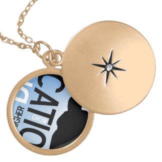 Inspiration Educational Design Locket Necklace