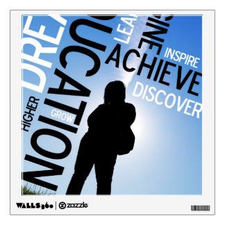 Inspiration Educational Design Wall Sticker