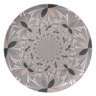 Inspiration Flower Dinner Plate