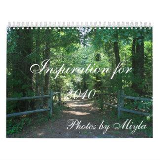 Inspiration for 2010 calendar