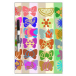 Inspiration from Colorful Lives of Butterflies Dry-Erase Whiteboard